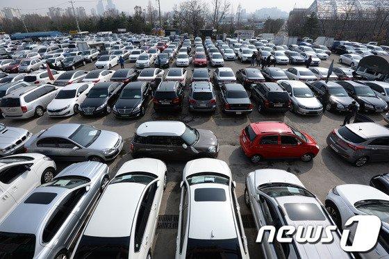 [사진]서울 장안평 일대 자동차산업 메카로