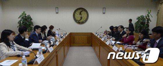 [사진]'한-네팔 정책 협의회'
