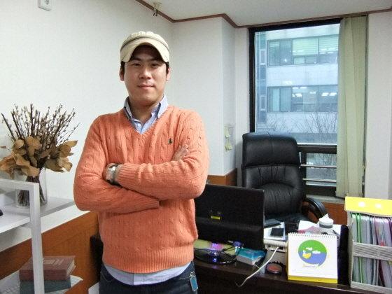 정찬영 '부야스 곱창' 대표 /사진=문해인 기자