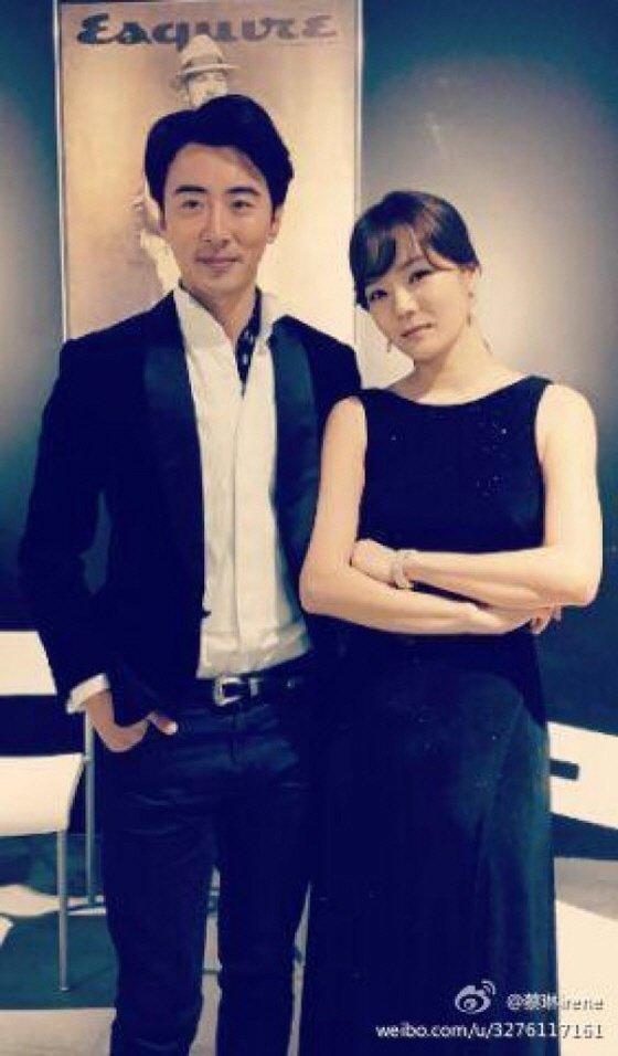 배우 채림이 지난해 12월 자신의 웨이보에 공개한 연인 가오쯔치(왼쪽)와의 사진 /사진=채림 웨이보