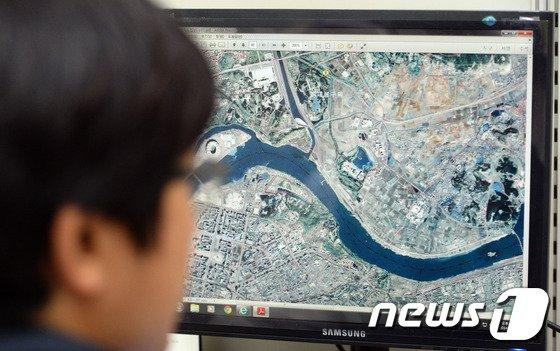 [사진]'북한 건물, 시가지 현황이 한눈에...'