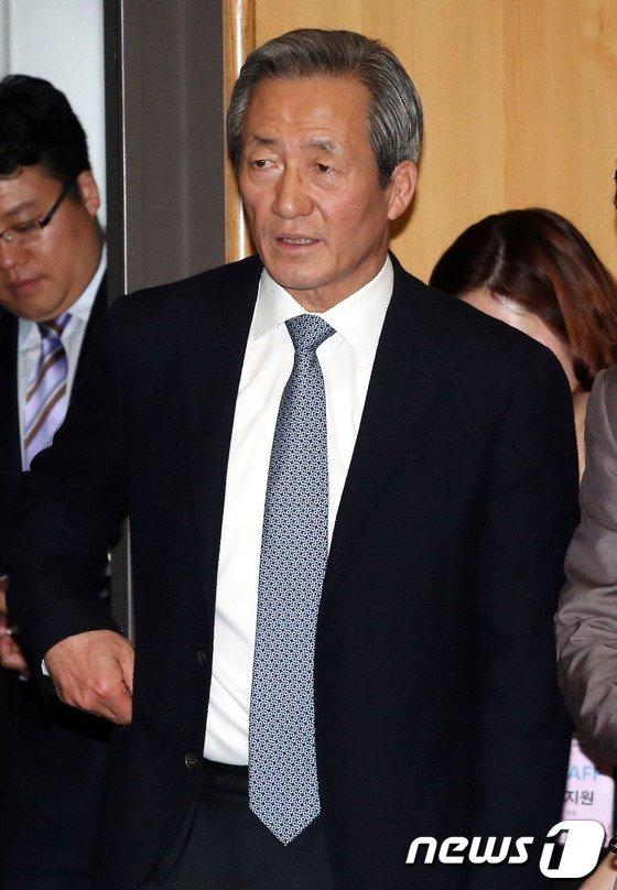 [사진]정몽준, 사회복지사의 날 기념식 참석