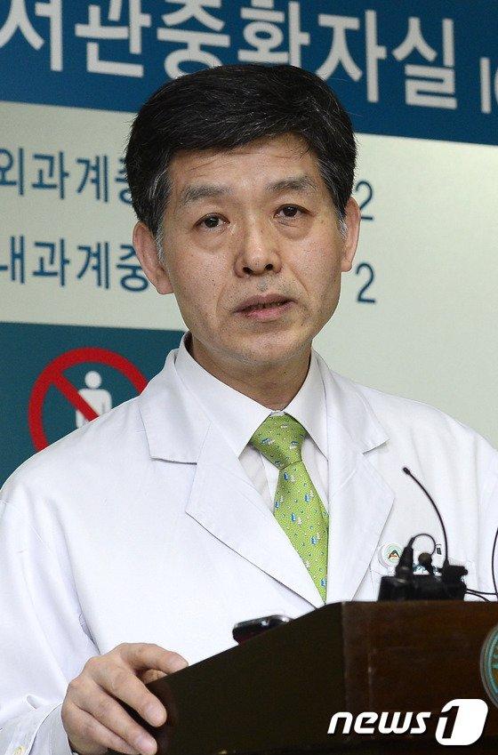[사진]'자살기도' 국정원 권 과장의 상태는?