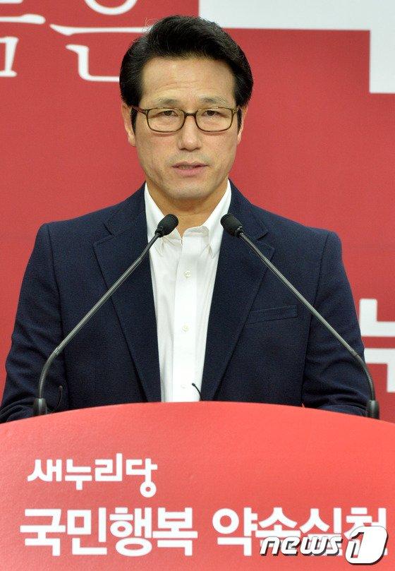 [사진]정병국 예비후보, 경기도 7대정책 발표