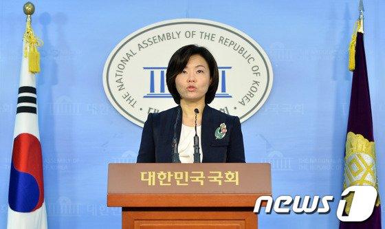 민현주 새누리당 대변인. 2014.3.24/뉴스1 © News1   박철중 기자