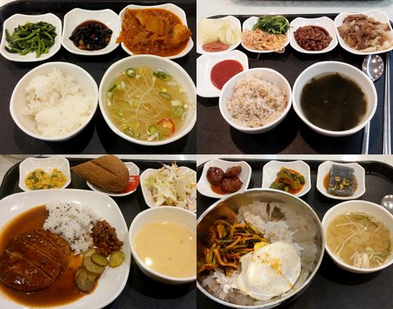 염도가 낮은 한식 섭취를 위해 평일 점심은 대체로 구내 식당에서 해결했다. /사진=마아라 기자