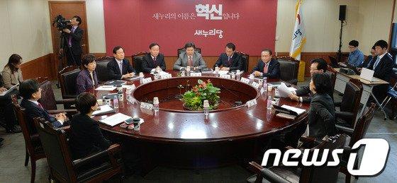 [사진]새누리당 공천관리위원회 회의