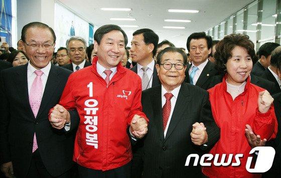 [사진]유정복 예비후보 선거사무소 개소식