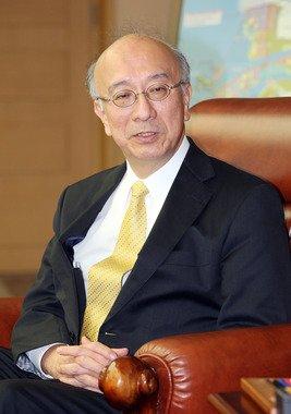 벳쇼 고로 주한 일본 대사. (전북도청 제공)2014.3.19/뉴스1 © News1 김대웅 기자