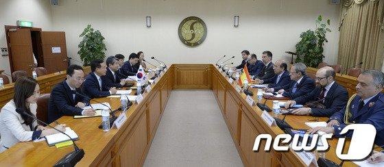 [사진]한-스페인 정책협의회