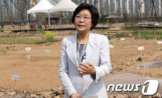 [사진]정책공약 발표하는 이혜훈 예비후보