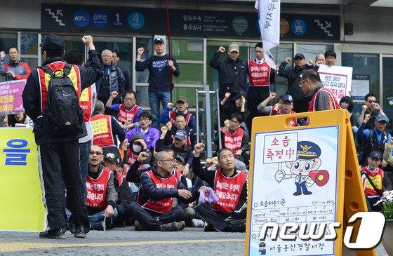 [사진]서울경찰, 집회시위 현장 소음 피해 막는다