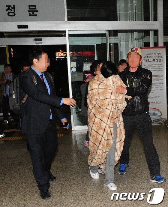 [사진]진도 여객선 사고 생존자 '안산고대병원서 치료