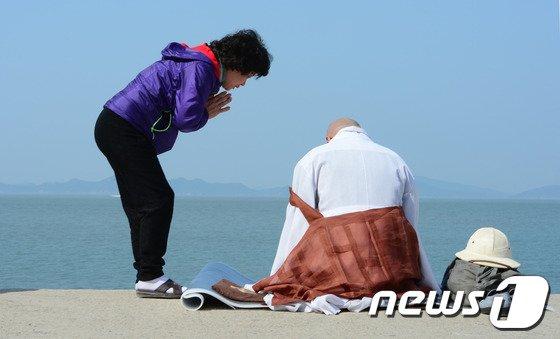 [사진][세월호 침몰] 부모 마음
