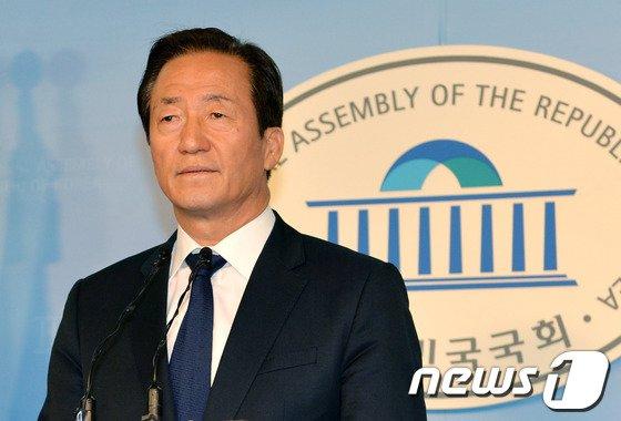 [사진]정몽준 '아들 페북글, 사과'