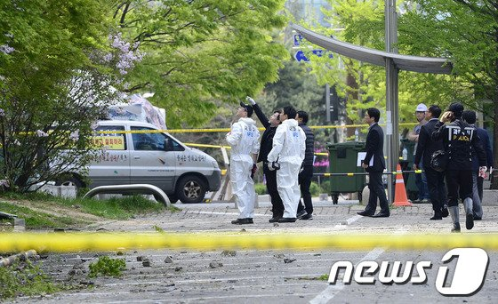 [사진]삼성SDS 과천센터 현장감식