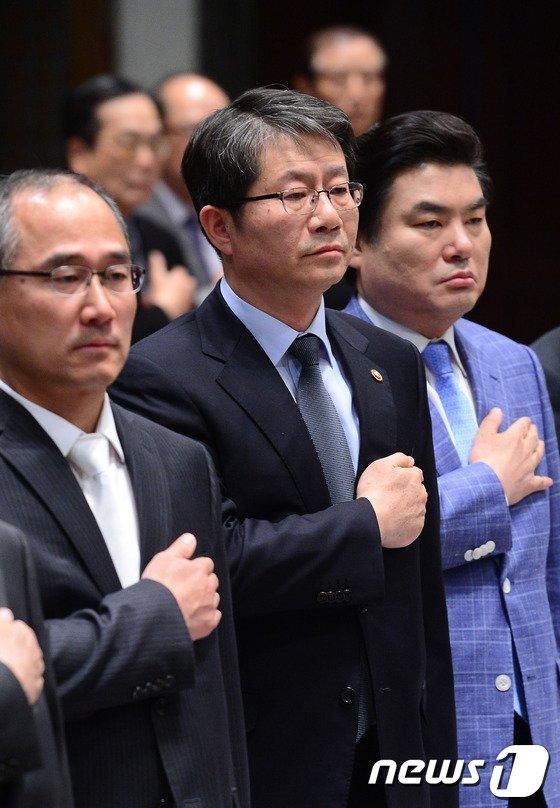 [사진]'2014 재외동포언론인대회' 참석한 류길재 장관