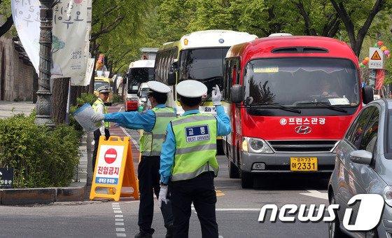 [사진]도심 교통체증을 막아라!