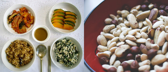 현미밥 식사와 견과류 등 좋은 탄수화물 섭취하는 것이 다이어트에도 효과적이다./사진=머니투데이DB, 픽점보