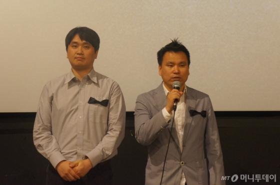 소태환 네시삼십삼분 대표(왼쪽)와 김재영 액션스퀘어 대표/사진제공=네시삼십삼분
