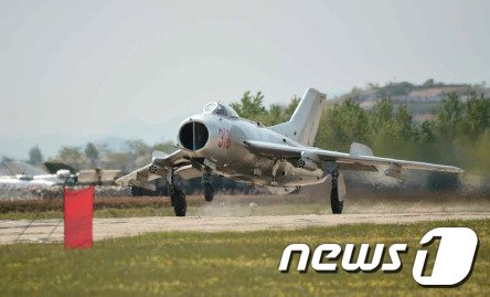 [사진]北 공군 전투비행기술 경기대회