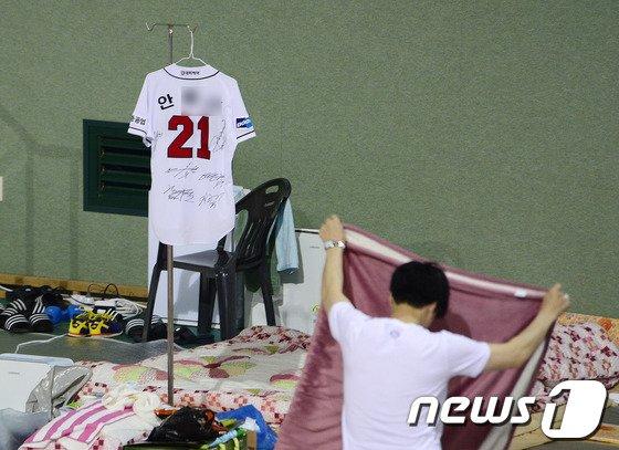 [사진][세월호 참사] '아들아 보고 있니?'