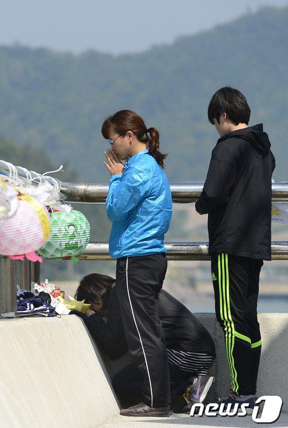[사진][세월호 참사] '엄마랑 집에가자'