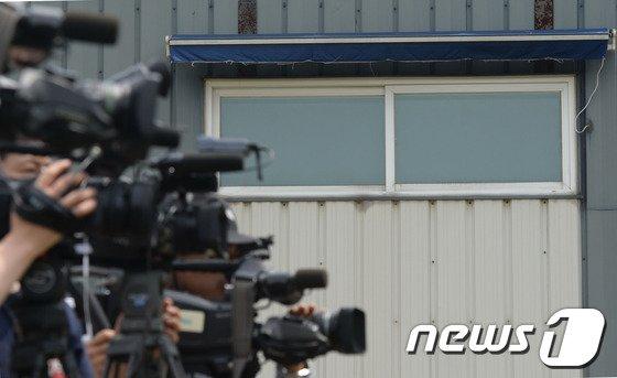 [사진]유병언 전 회장의 스튜디오 창문