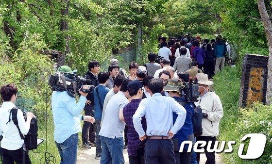 [사진]금수원, 언론사에 내부 첫 공개