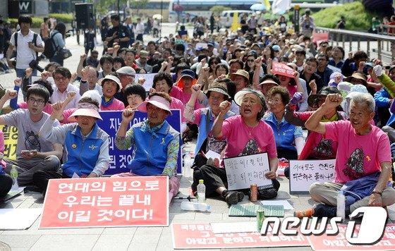 [사진]5.18 청와대 만민공동회