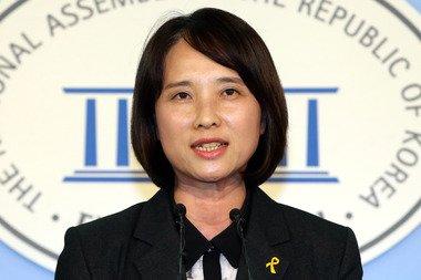 유은혜 새정치민주연합 원내대변인 2014.5.9/뉴스1 © News1   이광호 기자