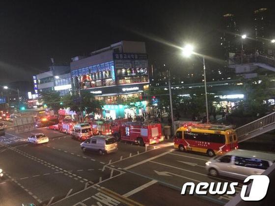 [사진]지하철 1호선 노량진 역서 감전 사망사고 발생