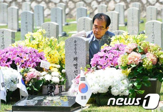 [사진]세월호 선장과는 달랐던 故 채명신 장군