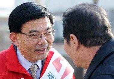 김성동(왼쪽) 신임 국회의장 비서실장.  © News1 오대일 기자