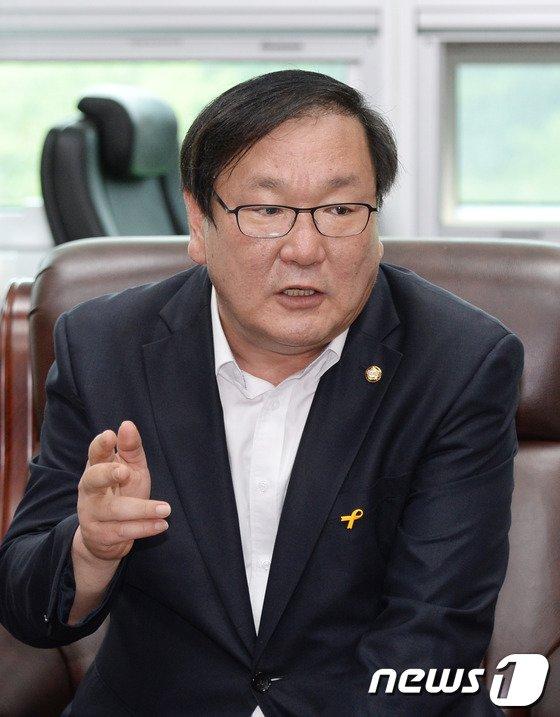 """[사진]김태년 """"남경필 당선인의 통합 부지사직 제안은..."""""""