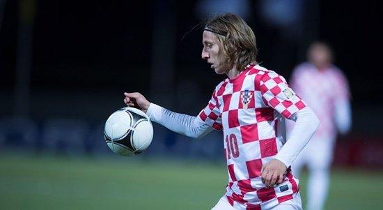 크로아티아의 심장 루카 모드리치. /사진=크로아티아 축구협회 <br /> <br />