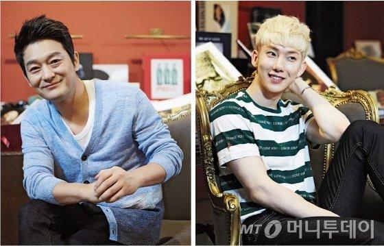 뮤지컬 '프리실라'에서 여장 남자로 활약할 배우 조성하(왼쪽)와 가수 조권. /사진제공=설앤컴퍼니