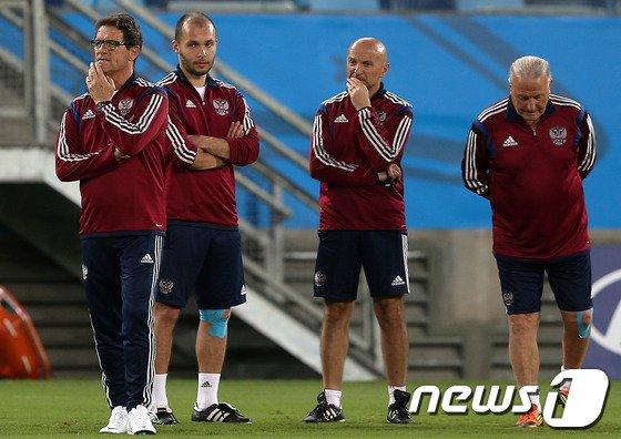 [사진][월드컵] 대한민국과 1차전 앞둔 카펠로 감독