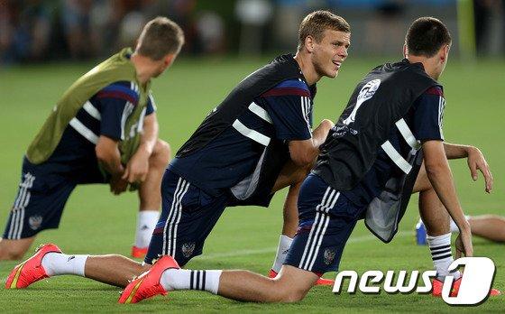 [사진][월드컵] 공식 훈련 나선 코코린