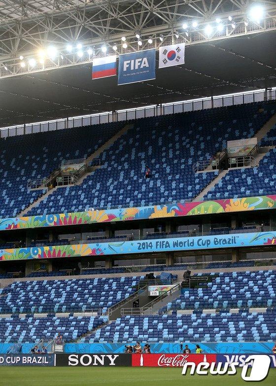 [사진][월드컵] 대한민국 vs 러시아 경기 D-1