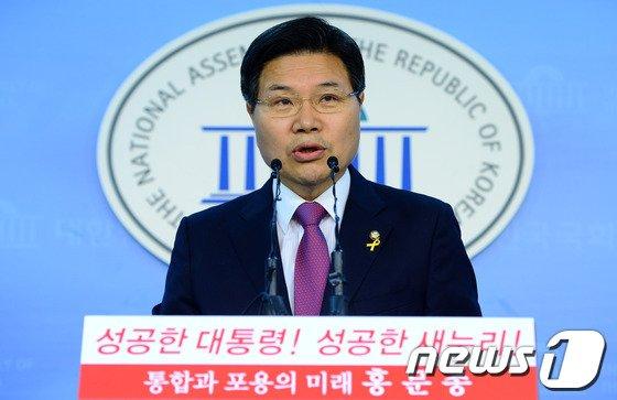 홍문종 새누리당 의원. 2014.6.16/뉴스1 © News1 박세연 기자