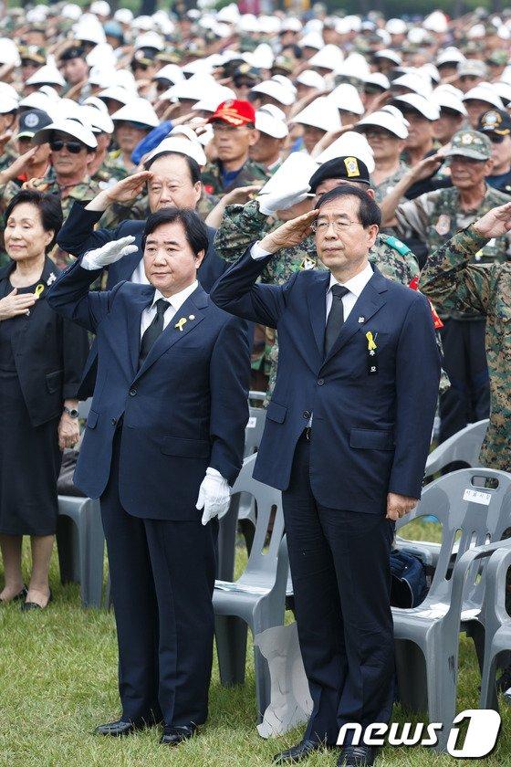 [사진]월남전 참전 전사자 위령제