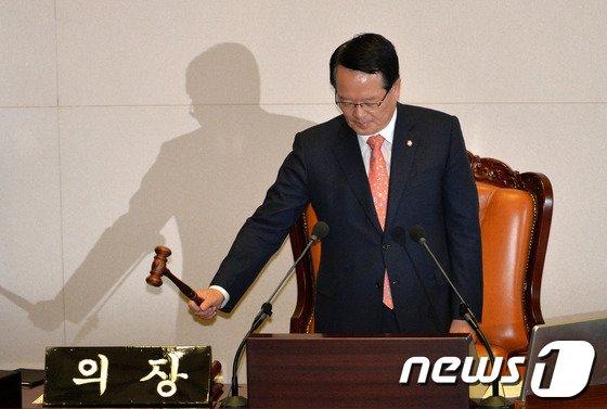 정의화 국회의장. 2014.6.11/뉴스1 © News1 박철중 기자