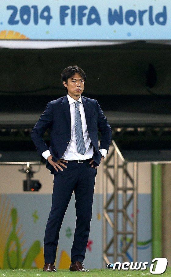 [사진][월드컵] 홍명보 '박주영을 어떻게...'