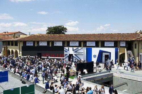 지난 16~20일 피티 워모가 열린 이탈리아 피렌체 '포르테자 다 바소' 전경.
