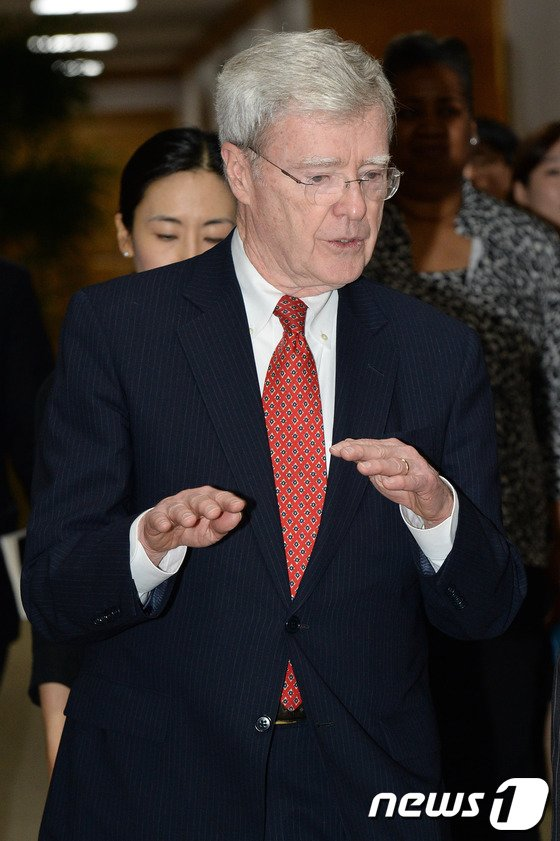 [사진]대법원 찾은 오스캔런 美국제사법관계위원장