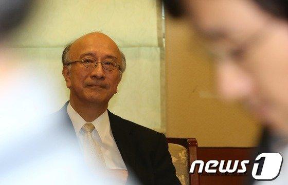 [사진]외교부, 벳쇼 고로 日 대사 초치