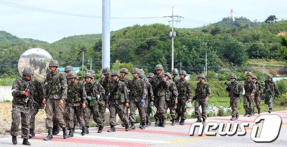 [사진]철수하는 군병력