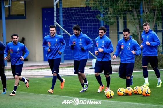 그리스 축구 국가대표팀./ AFPBBNews = News1
