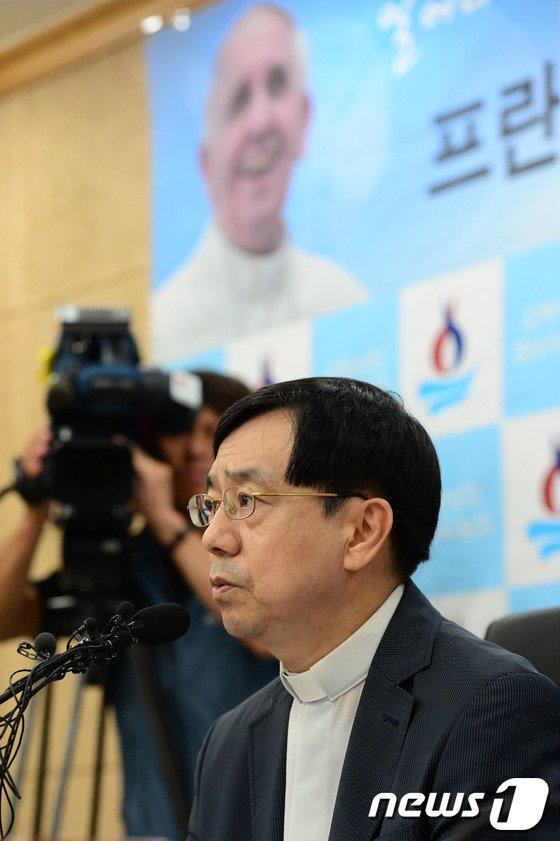 [사진]'교황, 한국청년들 만나고 싶어한다'